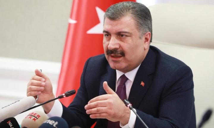 وزير الصحة التركي يعلن ارتفاع وفيات كورونا لـ30 والإصابات لـ1236