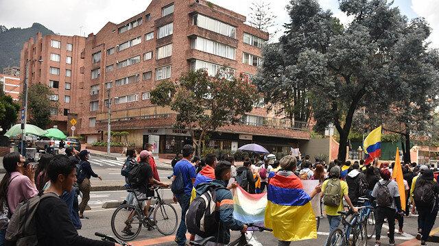 احتجاجات كولومبيا تدخل يومها العاشر