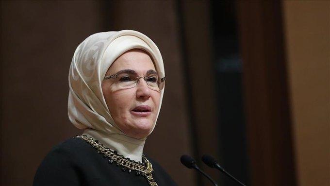 أمينة أردوغان تدين بشدة الاعتداءات الإسرائيلية في القدس