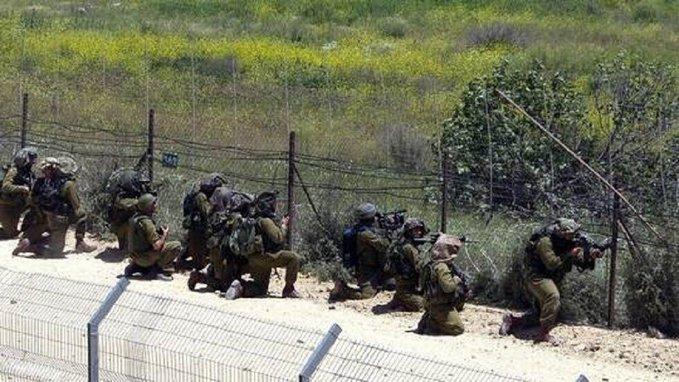 جيش الاحتلال الإسرائيلي يحاصر بلدة فلسطينية شمالي الضفة