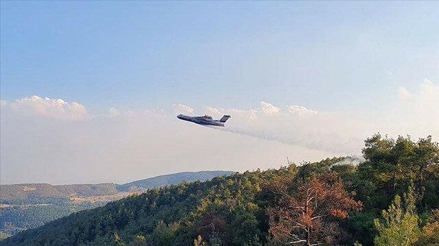 روسيا ترسل 11 طائرة لمساعدة تركيا في إخماد الحرائق