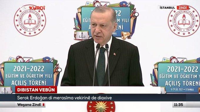 """Serok Erdogan di merasima vekirina """"KALE""""yê de axivi"""